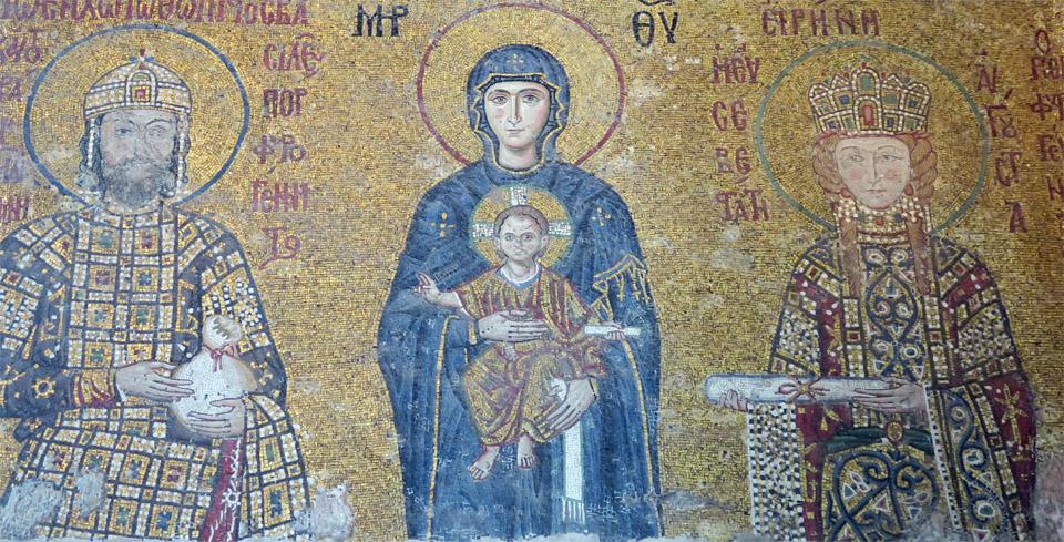 アヤソフィアのキリスト画