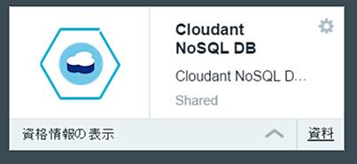 1.Cloudant追加