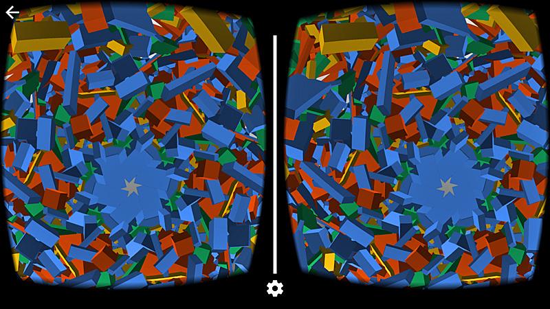 Google Cardboard Kaleidoscope