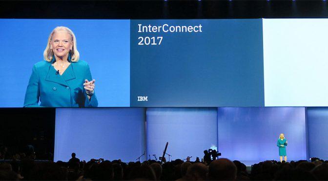 IBM InterConnect 2017 基調講演