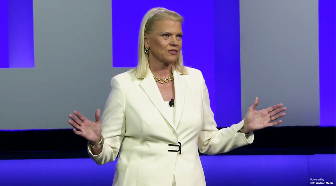 IBM THINK – ハイブリッド・クラウドと、どこでもWatson