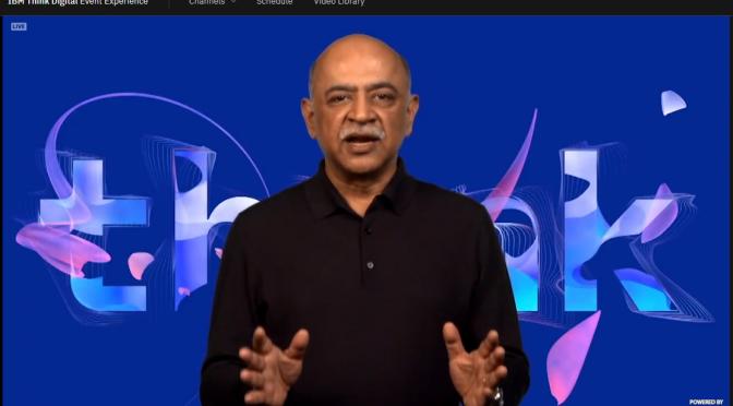 THINKデジタルのイベントで IBMの新CEOが発表した新戦略